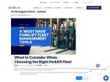 4 'Must Have' Forklift Fleet Management Tools – SIERA.AI