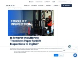 Forklift Inspection – SIERA.AI