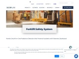 Forklift Safety System With Machine Vision.-SIERA.AI