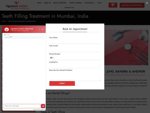 Dental Filling Treatment in Mumbai