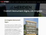 Free Standing Signs Los Angeles