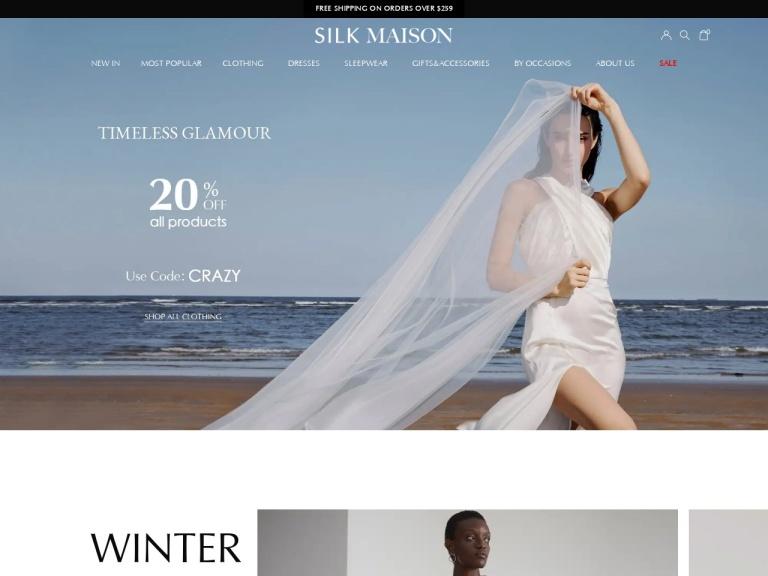 Silk Maison Coupon Codes