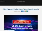 CPA Exam in India | CPA Full Form | Simandhar Education | CPA Course, Syllabus, Eligibility, Fees