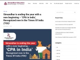 Simandhar is ending the year with a new beginning – CPA in India
