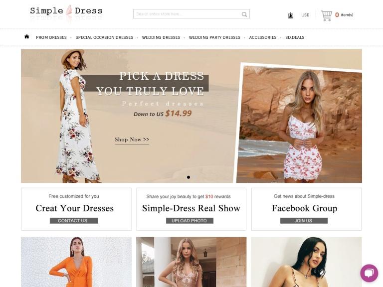 Simple-Dress screenshot