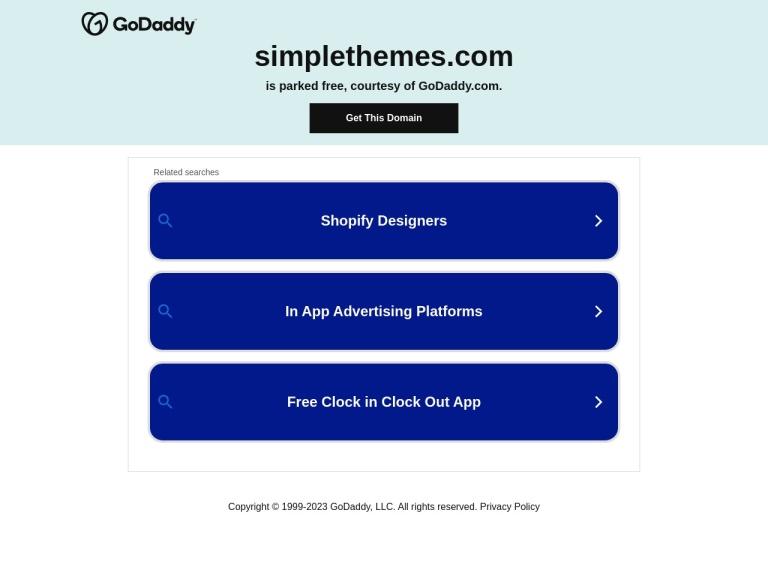 Simple Themes Coupon Codes screenshot