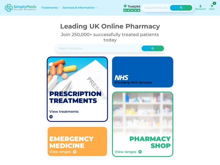 Simply Meds Online screenshot