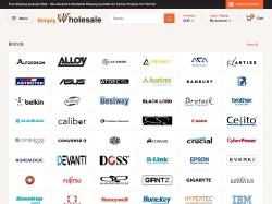 Simply Wholesale (Australia) screenshot