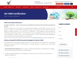 ISO 14001:2015 Certification | Environmental Management System