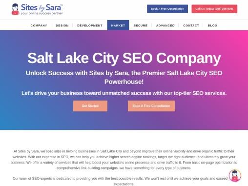 🥇 seo near me | Salt Lake City SEO Company | Utah SEO Services Company | Sites by Sara