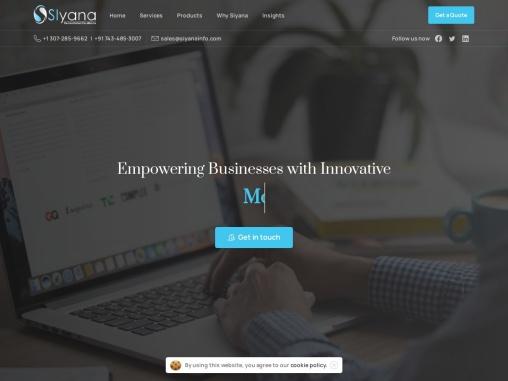 Digital Marketing Services – Siyana Info Solutions