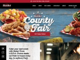 Sizzler.com screenshot