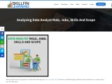 Analyzing Data Analyst Role, Jobs, Skills and Scope