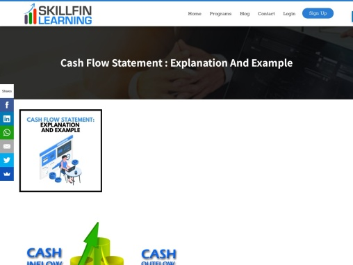 Cash Flow Statement Explanation and Example