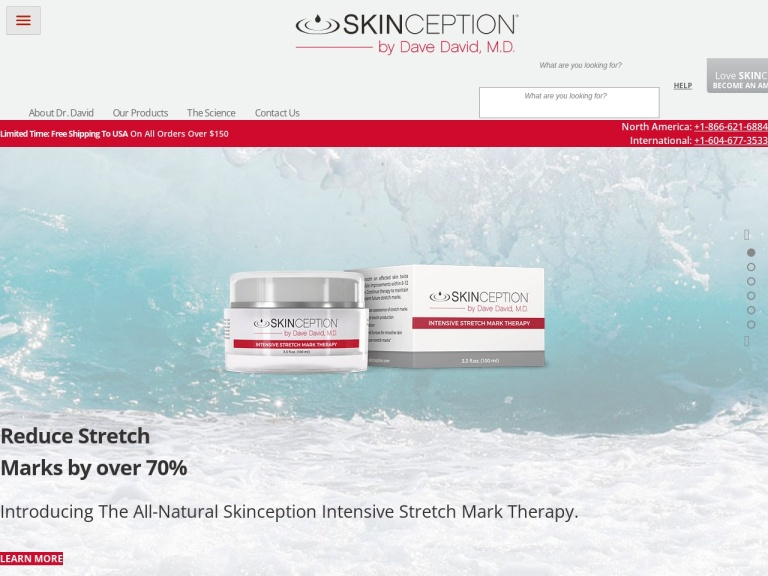 Skinception Argan Oil screenshot