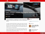 Hans Zimmer creates the engine sound for BMW electric cars