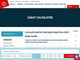 online zakat calculator pay your zakat