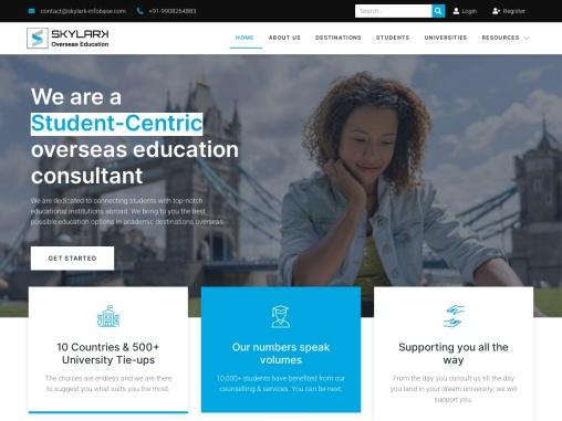 Skylark Overseas  Education