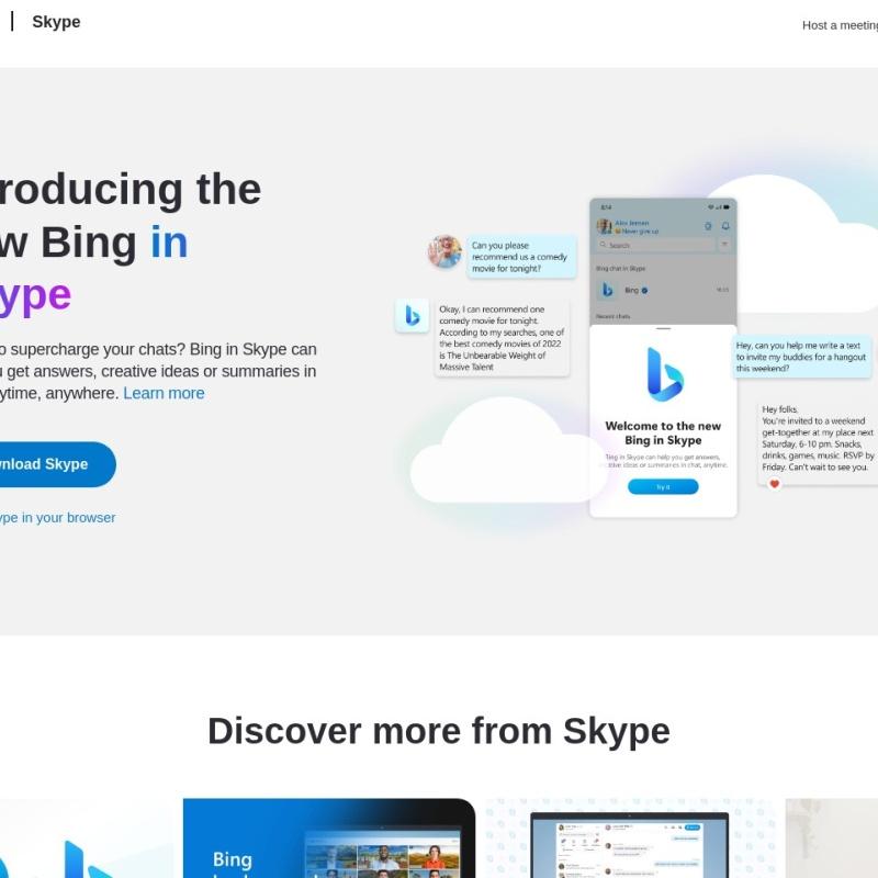 Skype | 無料通話とチャット用のコミュニケーション ツール