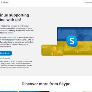 Skype | Stay connected with free video calls worldwide