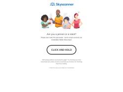 Skyscanner Canada screenshot