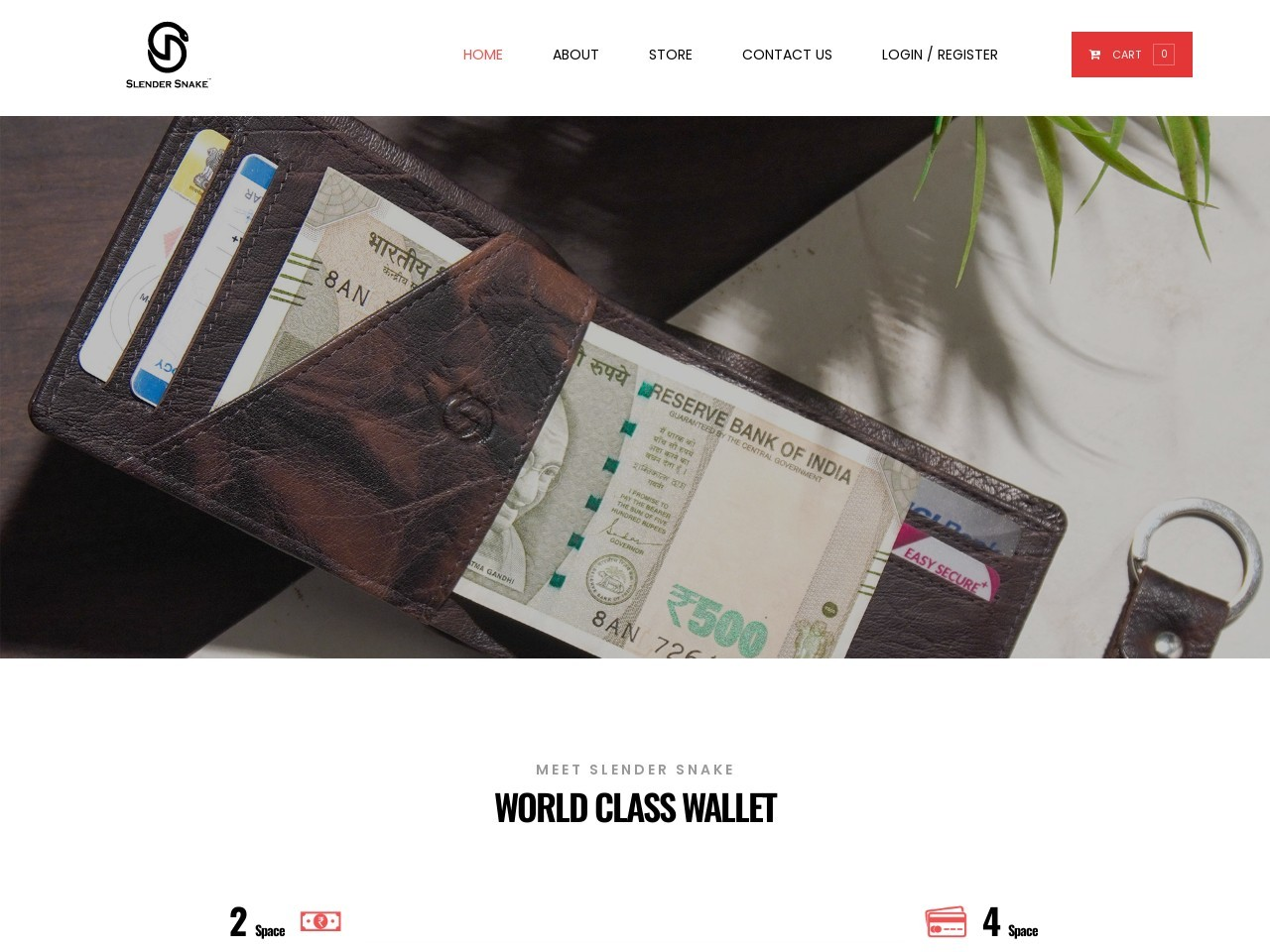 Buy Hunter Money Clip Wallet – Hand Crafted Leather Wallet – SlenderSnake