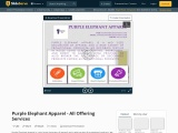 Purple Elephant Apparel – All Offering Services