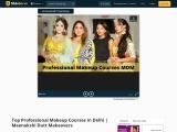 Top Professional Makeup Courses in Delhi | Meenakshi Dutt Makeovers