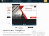 Presentation of Save Money When Building A House