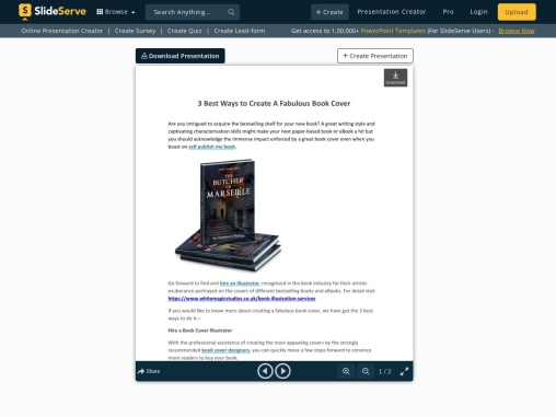 3 Best Ways to Create A Fabulous Book Cover