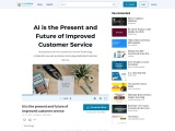 AI is the Present and Future of Improved Customer Service