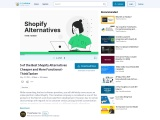 5 of the Best Shopify Alternatives Cheaper and More Functional – ThinkTanker
