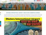 Dholera International Airport in India's First Greenfield Smart City Dholera SIR