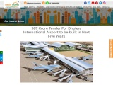 The AAI Releases 987 Crore Tender For Dholera International Airport
