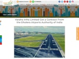 Varaha Infra Limited Got a Contract From the Dholera International Airport Authority of India