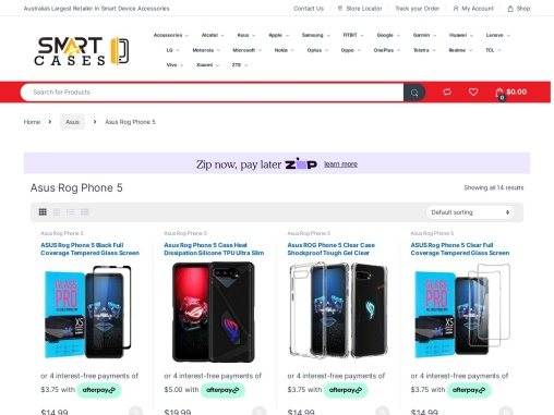 Asus Rog Phone 5 Case Cover & Accessories For Sale | Smart Cases