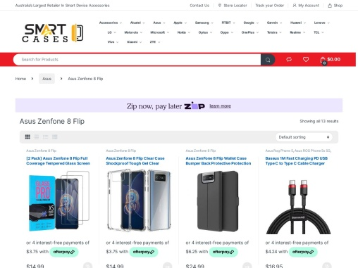 Asus Zenfone 8 Flip Case Cover & Accessories For Sale | Smart Cases