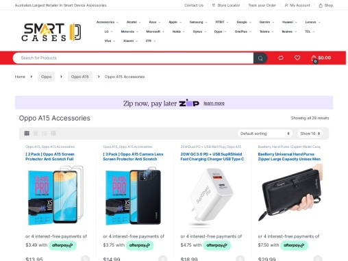 Oppo A15 Accessories For Sale |Free Shipping |Smart Cases