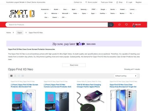 Oppo Find X3 Neo Case Cover Screen Protector Accessories | SmartCase