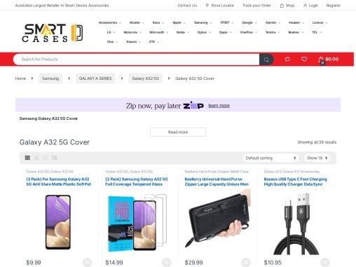 Samsung Galaxy A32 5G Cover Case & Accessories Sale | SmartCases