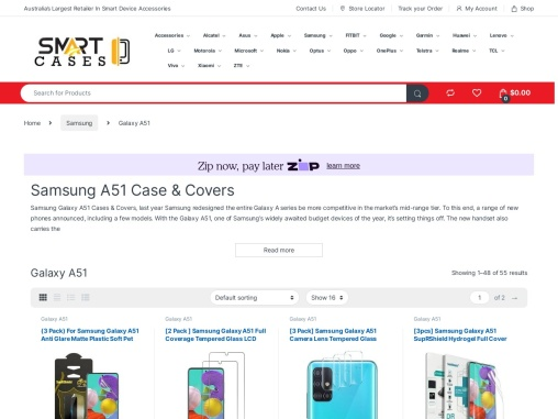 Samsung Galaxy A51 Cases Covers Screen Protectors & Accessories