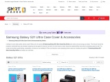 Samsung Galaxy S21 Ultra Case Cover & Accessories