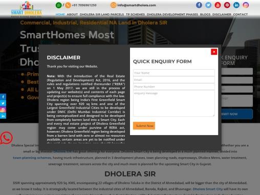 Buy Commercial NA Land TP4B1 At High Access Corridor In Dholera SIR