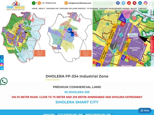 Invest In Commercial Land In Dholera Smart City
