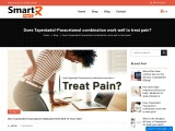 Does Tapentadol-Paracetamol combination work well to treat pain?