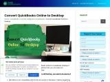 How to Convert QuickBooks Online to Desktop?