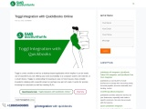 Toggl integration with QuickBooks Online