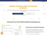Be More Productive With LinkedIn Scheduling Tool
