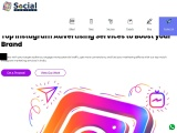 Best Instagram Marketing Agency in India | Social Cubicle