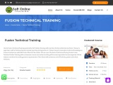 Oracle Fusion Technical Online Training – Soft Online Training